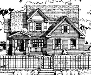 Country Traditional House Plan 68067 Elevation