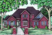 Plan Number 68070 - 2536 Square Feet