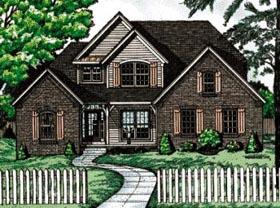 House Plan 68071