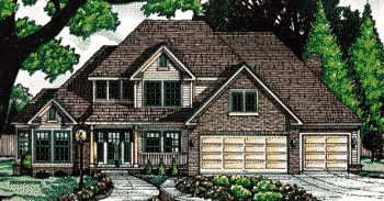 Traditional House Plan 68073 Elevation