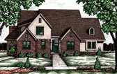 Plan Number 68082 - 2694 Square Feet