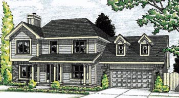 Colonial Southern House Plan 68106 Elevation