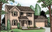 Plan Number 68107 - 1608 Square Feet