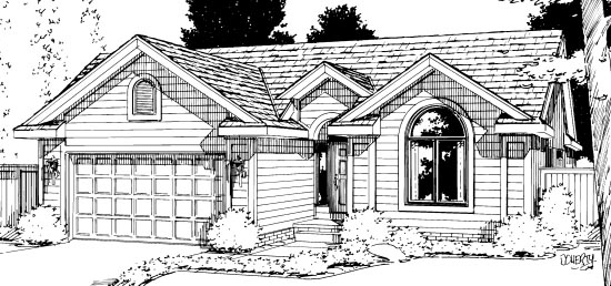 Traditional House Plan 68110 Elevation