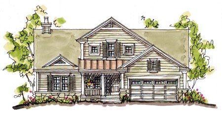 Bungalow Country Southern House Plan 68115 Elevation