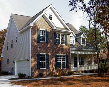 Country House Plan 68151 with 4 Beds, 4 Baths, 2 Car Garage Picture 1