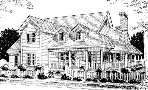 Southern House Plan 68176