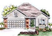 Plan Number 68197 - 1550 Square Feet