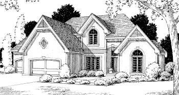 Traditional House Plan 68258 Elevation