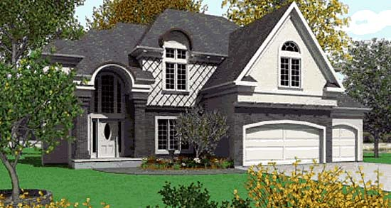 Traditional House Plan 68268 Elevation