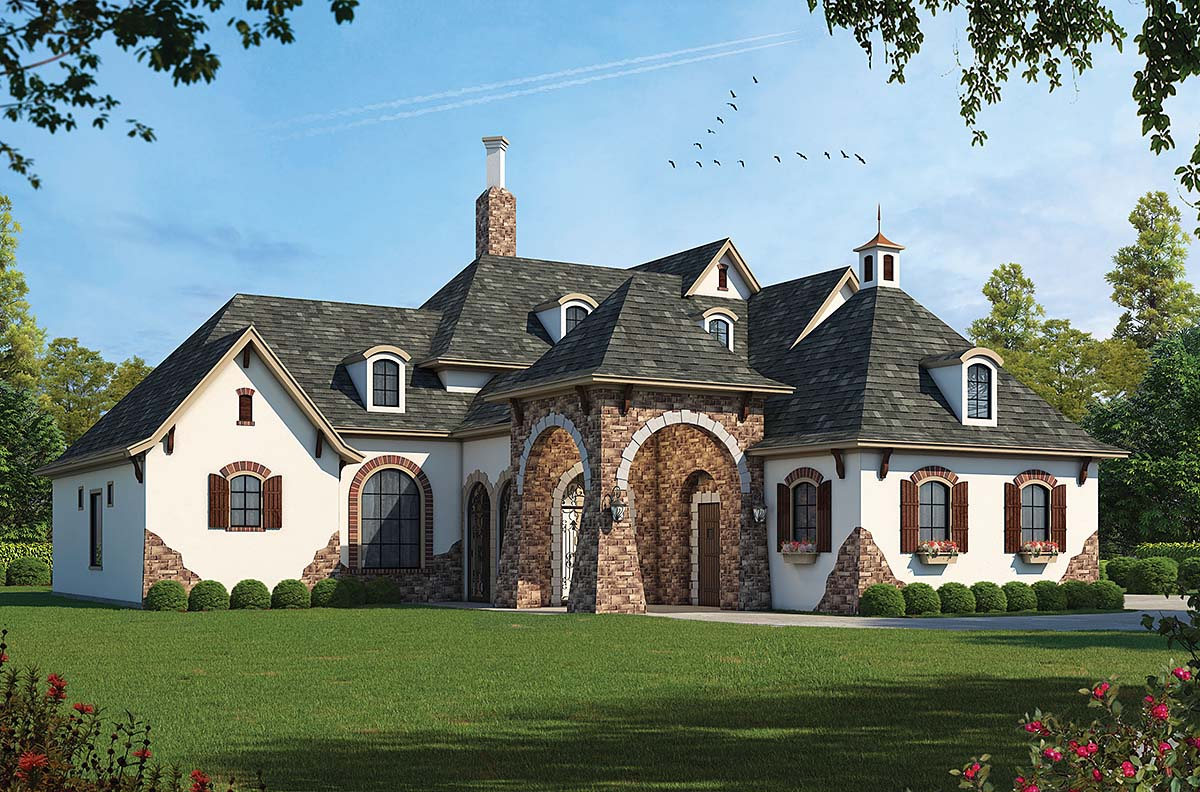 Southern House Plan 68359 Elevation