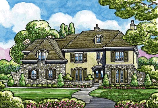 Southern House Plan 68361 Elevation
