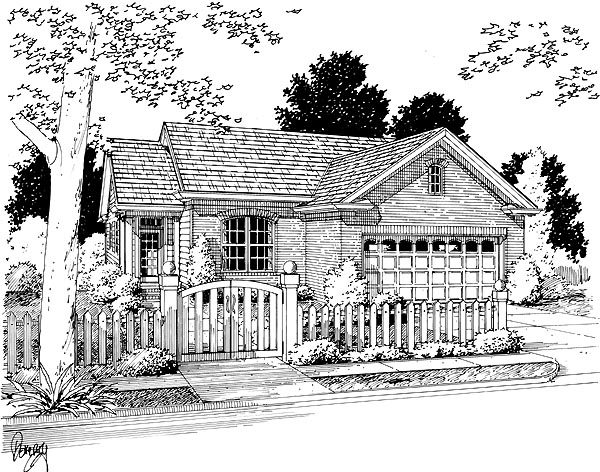 Traditional House Plan 68482 Elevation