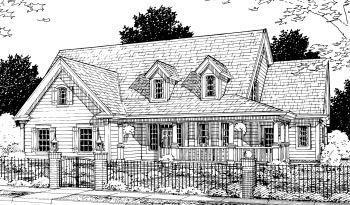 Country House Plan 68504