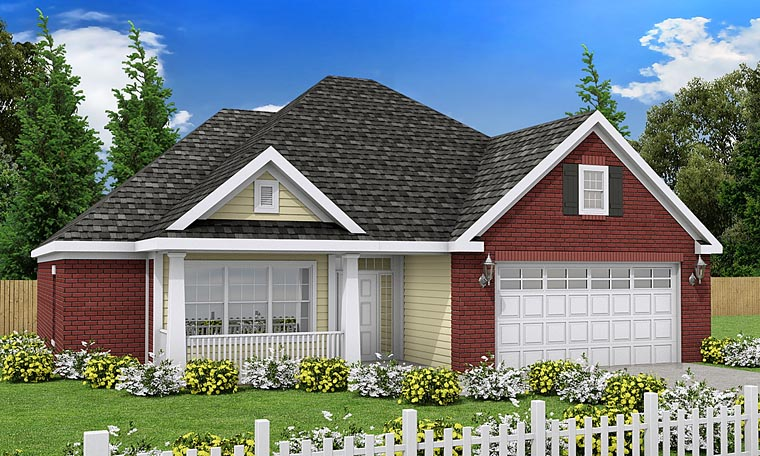 Traditional House Plan 68508