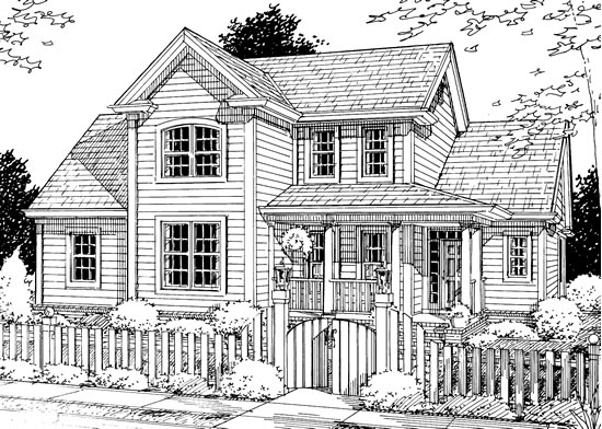 Traditional House Plan 68509