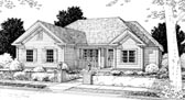Plan Number 68510 - 1344 Square Feet