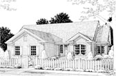 Plan Number 68511 - 1496 Square Feet