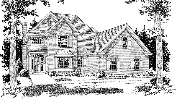 Traditional House Plan 68517