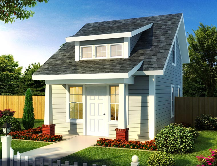Contemporary Cottage House Plan 68573 Elevation