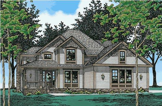 Country House Plan 68634 Elevation