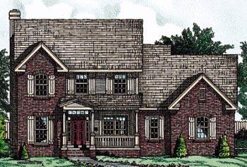 Farmhouse House Plan 68736 Elevation