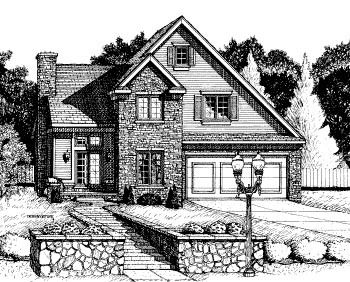Traditional House Plan 68769 Elevation