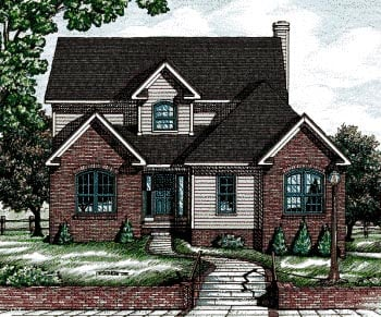 Traditional House Plan 68777 Elevation