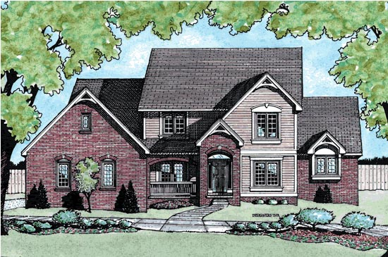 Country House Plan 68795 Elevation