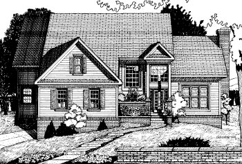 Country House Plan 68803 Elevation