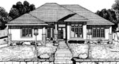 Plan Number 68809 - 1931 Square Feet
