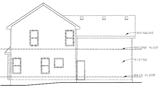 Country House Plan 68846 Rear Elevation