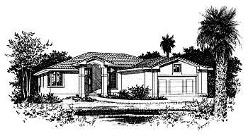 Mediterranean House Plan 68901 Elevation
