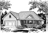 Plan Number 68906 - 1843 Square Feet