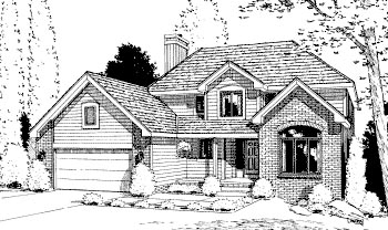 Traditional House Plan 68942 Elevation
