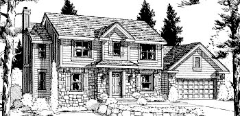 Colonial Country House Plan 68959 Elevation