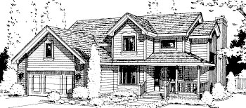 Country House Plan 68971 Elevation