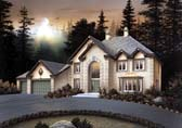 Plan Number 69008 - 3850 Square Feet