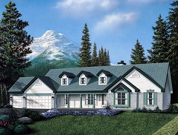 Traditional House Plan 69014 Elevation