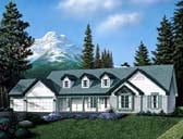 Plan Number 69014 - 1721 Square Feet