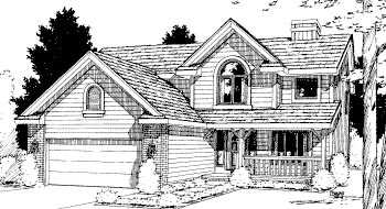 Country House Plan 69040 Elevation