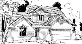 Traditional House Plan 69045 Elevation
