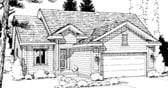 Plan Number 69050 - 1398 Square Feet