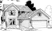 Plan Number 69056 - 1844 Square Feet