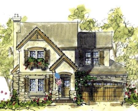 Craftsman House Plan 69098 Elevation