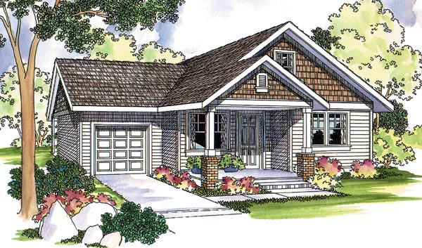 Traditional House Plan 69124