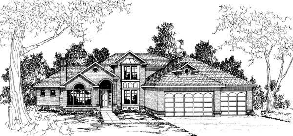Traditional House Plan 69276 Elevation