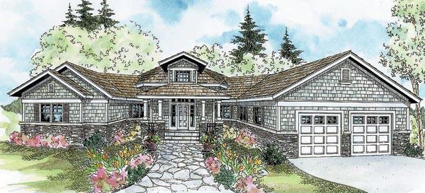 Craftsman House Plan 69302 Elevation
