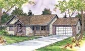 Plan Number 69405 - 1609 Square Feet