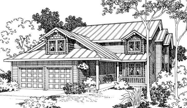 Country House Plan 69440 Elevation